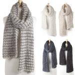 KSF123 Warm Knitted Long Muffler