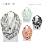 KSF2617P Abstract Stripe Infinity