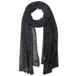 LOF481 Mesh Crochet Edge Oblong, Black