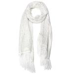 LOF483 Shimmery Oblong, White