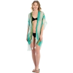 LOF800 Multi Color Striped Cover-up, Mint