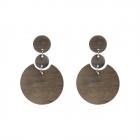 LE4448 Wood Stud Earring