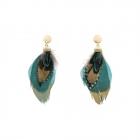 LE4450 Feather Earring