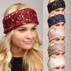 LHB003 CABLE KNITTED HEADBAND
