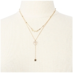 LN1530 Heart Layered Necklace
