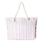 LOA058 Mini Anchor Striped Beach Bag