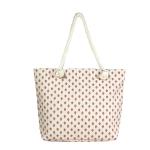LOA059 Strawberry Print Beach Bag