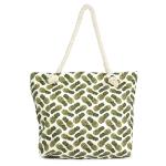 LOA060 Pineapple Print Beach Bag