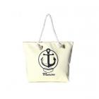 LOA065 ANCHOR PRINT BEACH BAG