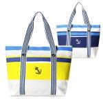 LOA072 Embroid Anchor Tote Bag