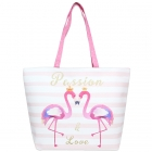 LOA101 Flamingo Tote Bag