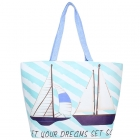 LOA105 Sailor Boat Tote Bag