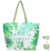 LOA106 Tropical Forest Tote Bag