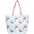 LOA107 Flamingo Tote Bag