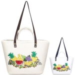 LOA112 Fruit Straw Tote Bag