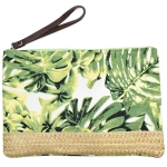 LOA120 Tropical Leaf Pouch