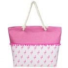 LOA126 Flamingo Tote Bag