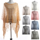 LOF219 Mesh with Tassel Cover Up