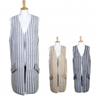 LOF316 STRIPE LONG VEST