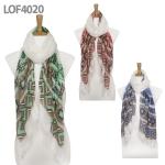 LOF4020 Shape Pattern Scarf