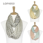 LOF4053 Cotton Stripe Infinity