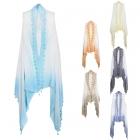 LOF407 Tie-dye Vest with Tassel
