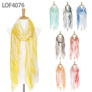 LOF4076 Tie-dyed Scarf