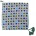 LOF470 Big Multi Color Polka Dot Bandana with Tassel