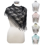 LOF496 Triangle Lace Scarf