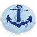 LOF501 ROUND ANCHOR BEACH COVER UP/BEACH MAT