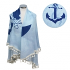 LOF501 ROUND ANCHOR BEACH COVER UP/BEACH MAT