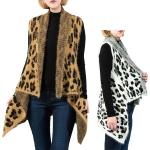 LOF561 Leopard Pattern Vest