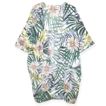 LOF711 Tropical Print Cover Up