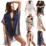 LOF726 Embroidery Flower CoverUp