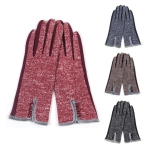 LOG025 Button Accent Gloves