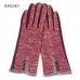LOG025 Button Accent Gloves