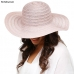 LOH091 Metallic Floppy Hat