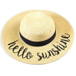 LOH101 Hello Sunshine Floppy Hat
