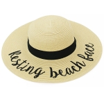 LOH102 Resting Beach Face Floppy Hat