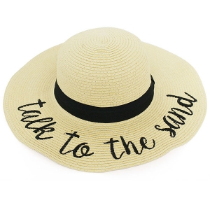 LOH103 TALK TO THE SAND FLOPPY HAT