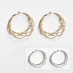MRE245 HOOP EARRINGS