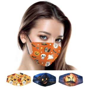 S-103 Halloween Pattern Reusable Mask