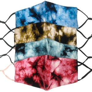 S-62 Faded Tie-dye Pattern Reusable Mask (1DZ)
