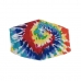 S-64 Multi Tie-dye Pattern Reusable Mask (1DZ)