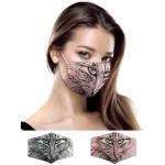 S-85 Cats Face Reusable Mask -1DZ