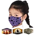 S-96 [KIDS] Halloween Pattern Reusable Mask (1DZ)