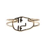 MTN3811 Face Bracelet Cuff