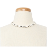 MTN4274 Cowrie Choker Necklace