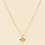 NA-107 Bright Third Eye Charm Necklace, WT