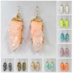 NE1588 FAUX QUARTZ EARRINGS